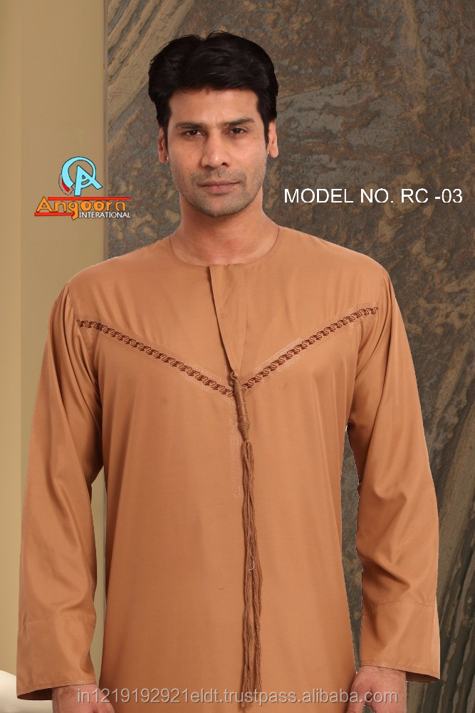 Middle East Taditional Omani Style High Quality Arab Thobe For Men New Fashion