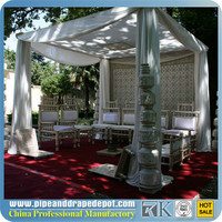 RK pipe & drape road case,pipe and drape kits for outdoor show or indoor show,event,wedding,trade show,concert
