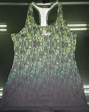 Girls sublimation print Tank Tops
