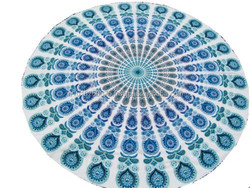 online round mandala indian hippie 2015
