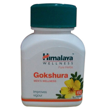 Himalaya Wellness-Pure Herbs-Gokshura-Men's Wellness Improves Vigour- 60 Tablets/Bottle