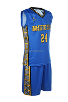 Healong Full Dye Sublimation youth team basketball uniform basketball jersey