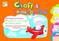 Craft & Colouring Pads - FA6931E