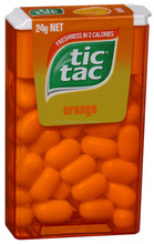 Ferrero India TIC TAC Orange Flavoured candy Mint