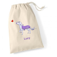 High Quality Customized Cotton Muslin Drawstring Bag Shoe Bag With Logo