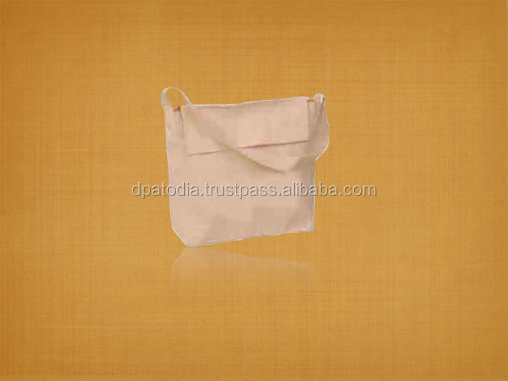 Organic Cotton Book Bag