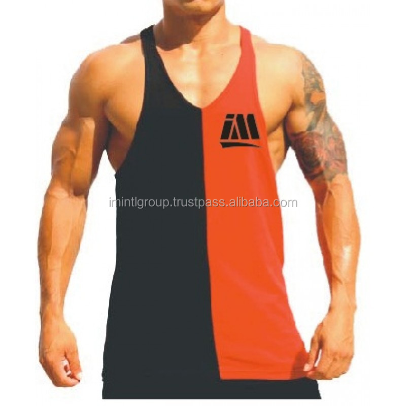 Weight Lifting Tank Tops - Stringer Vests Wholesale Fitness Gym, great quality OEM factory price I.M International