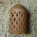 Moroccan Terracotta wall sconce