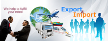 Import and Export Agent Import and Export service Import and Export