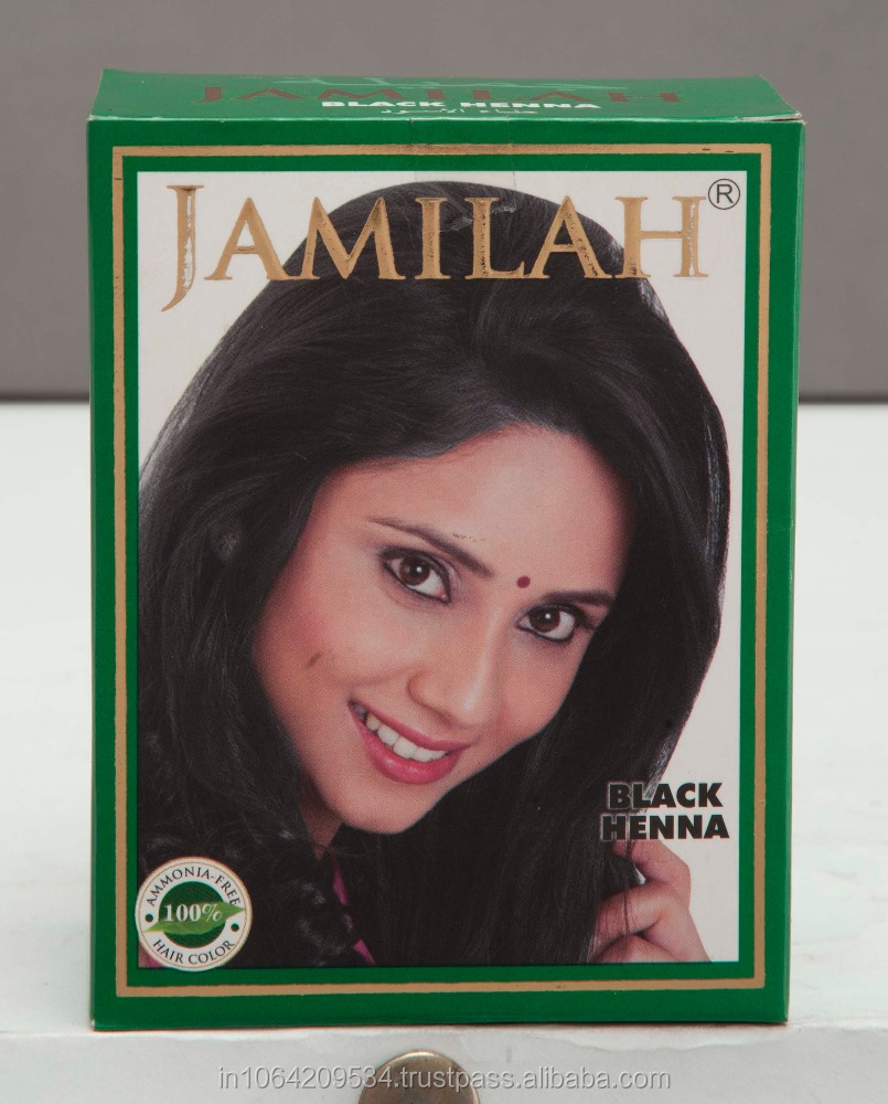 Jamilah natural Henna based Hair Color