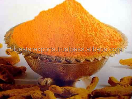 Turmeric powder from India