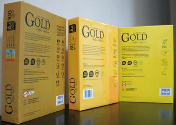 Cheap And Top Quality Paperline Gold A4 Copy Paper
