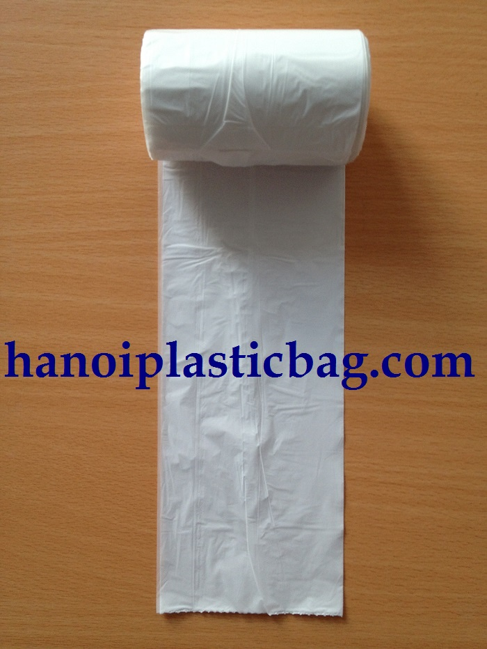 Polyethylene bags on roll star seal/ very large plastic bags