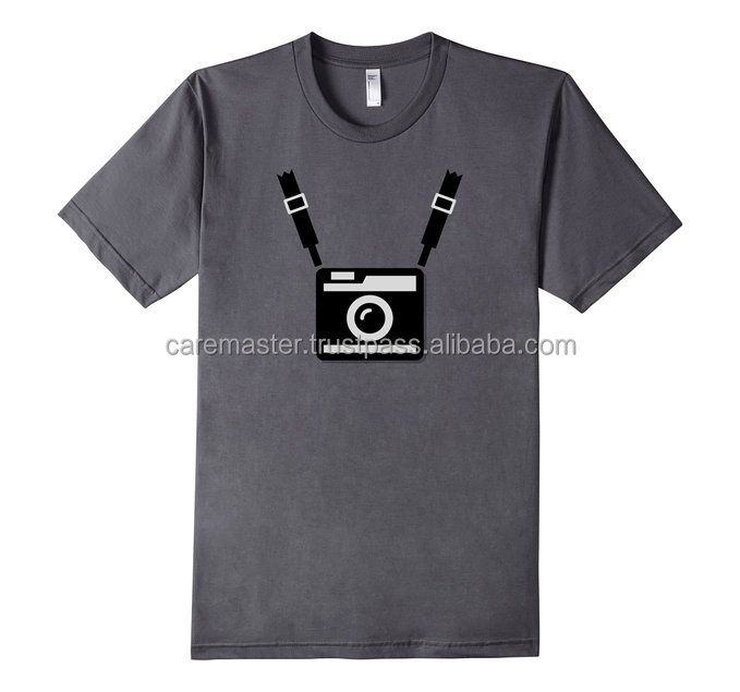 T-Shirt 2016 latest design screen printing with o neck