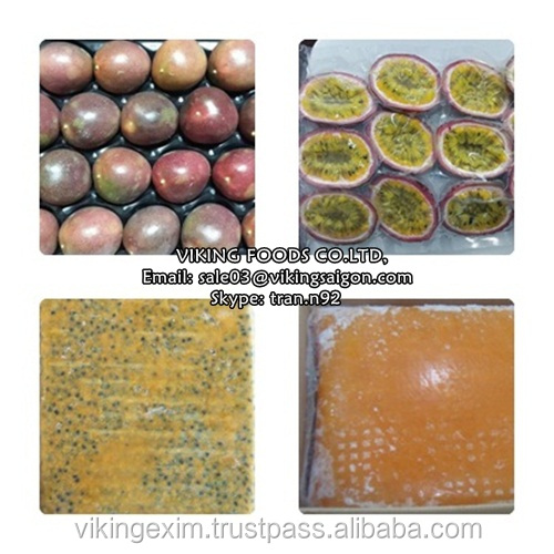 HOT SELLER_FROZEN PASSION FRUIT_HIGH QUALITY_FROM VIETNAM !