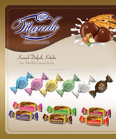 Marcello Double Twist Chocolate 2000 Gr