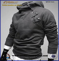 Men's fleece hoody jacket and pullover style