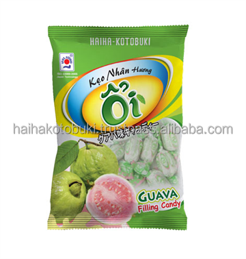 Fruit guava hard filling candy 95g