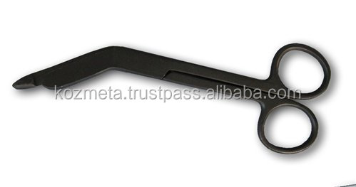 "Lister Bandage Scissor 5.5"" Full Black Colormed"