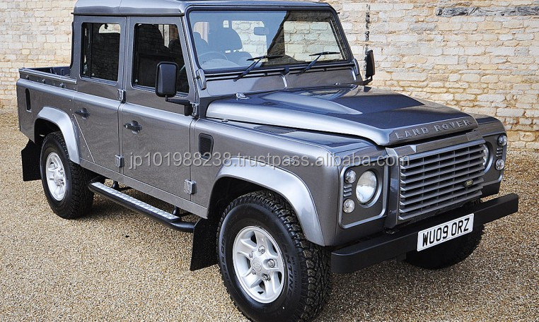 USED PICKUP - 2009 LANDROVER DEFENDER 110 DOUBLE CAB (RHD 1801301)