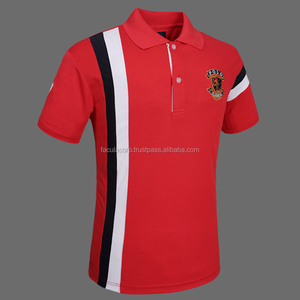 New Design 100% Cotton Polo T-shirts , Unisex polo shirts, Specialized, customized T shirts Men's hot apparel 100% FS-47-107