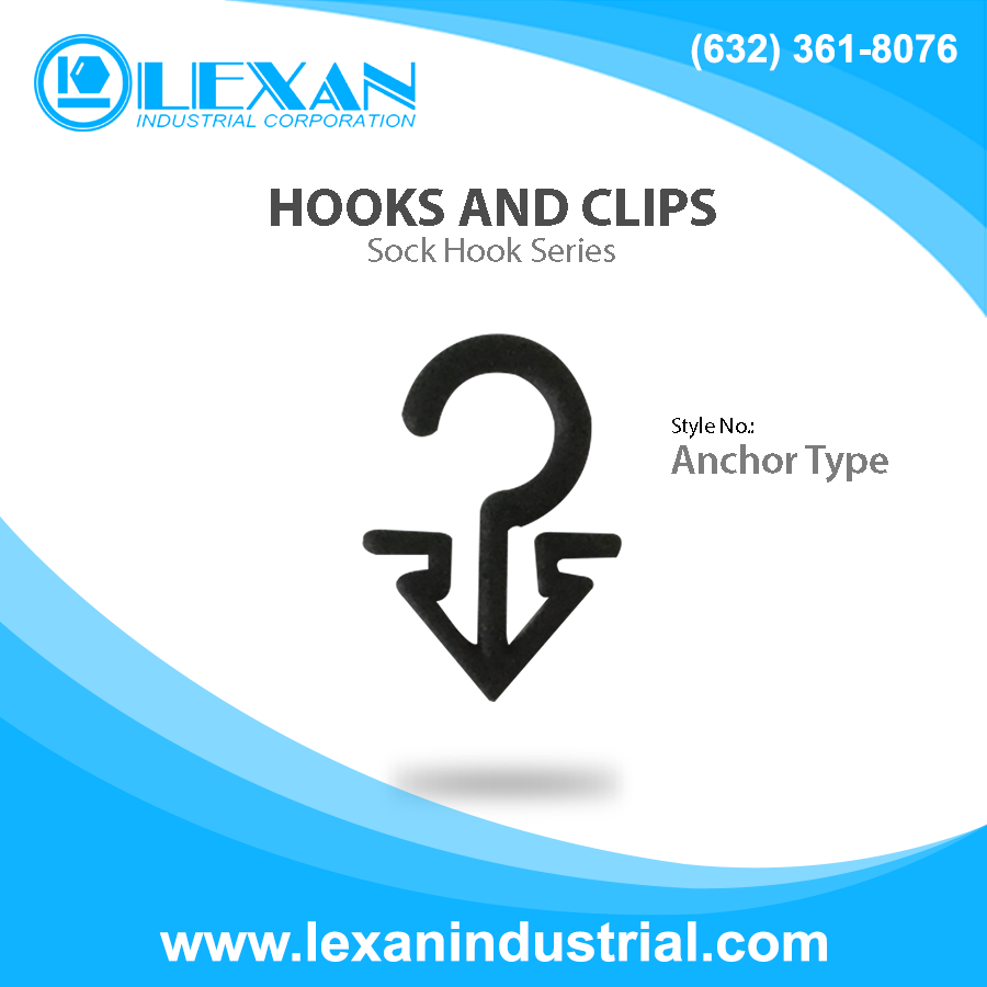 Sock Hook Anchor - Plastic Sock Hook - Anchor Type (Philippines)