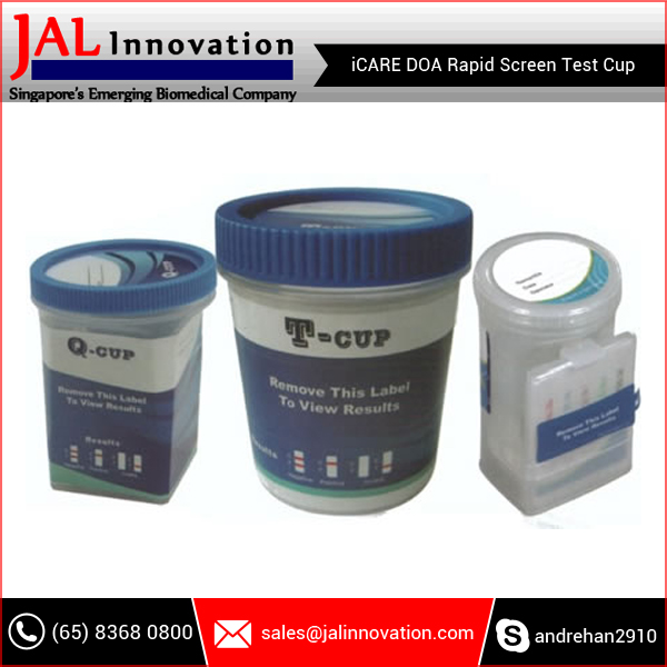 Low Cost Superior Quality DOA Rapid Screen Test Cup for Pharmaceutical Industry
