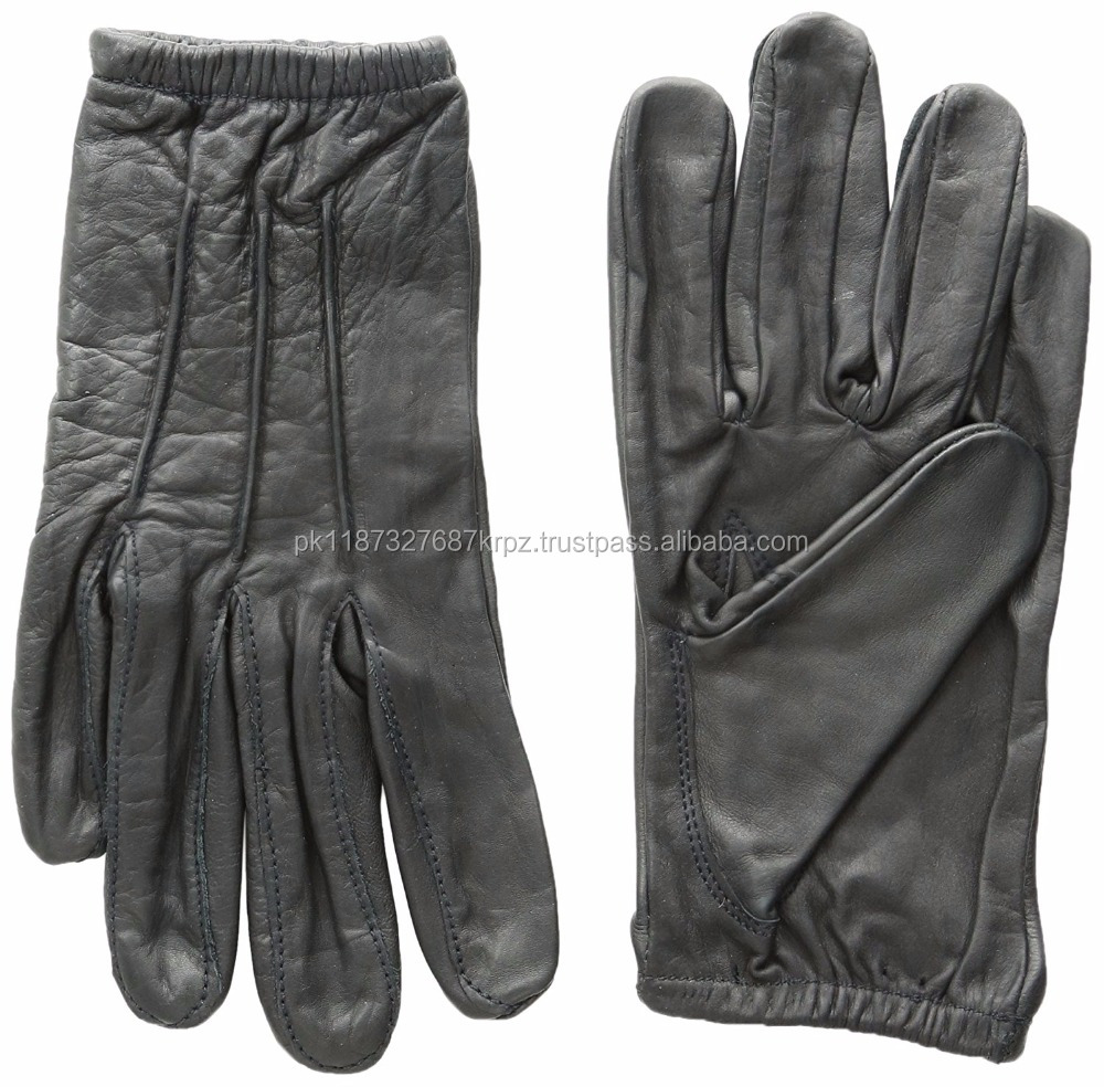 Wholesale Leather Police Duty Kevlar Linning Gloves