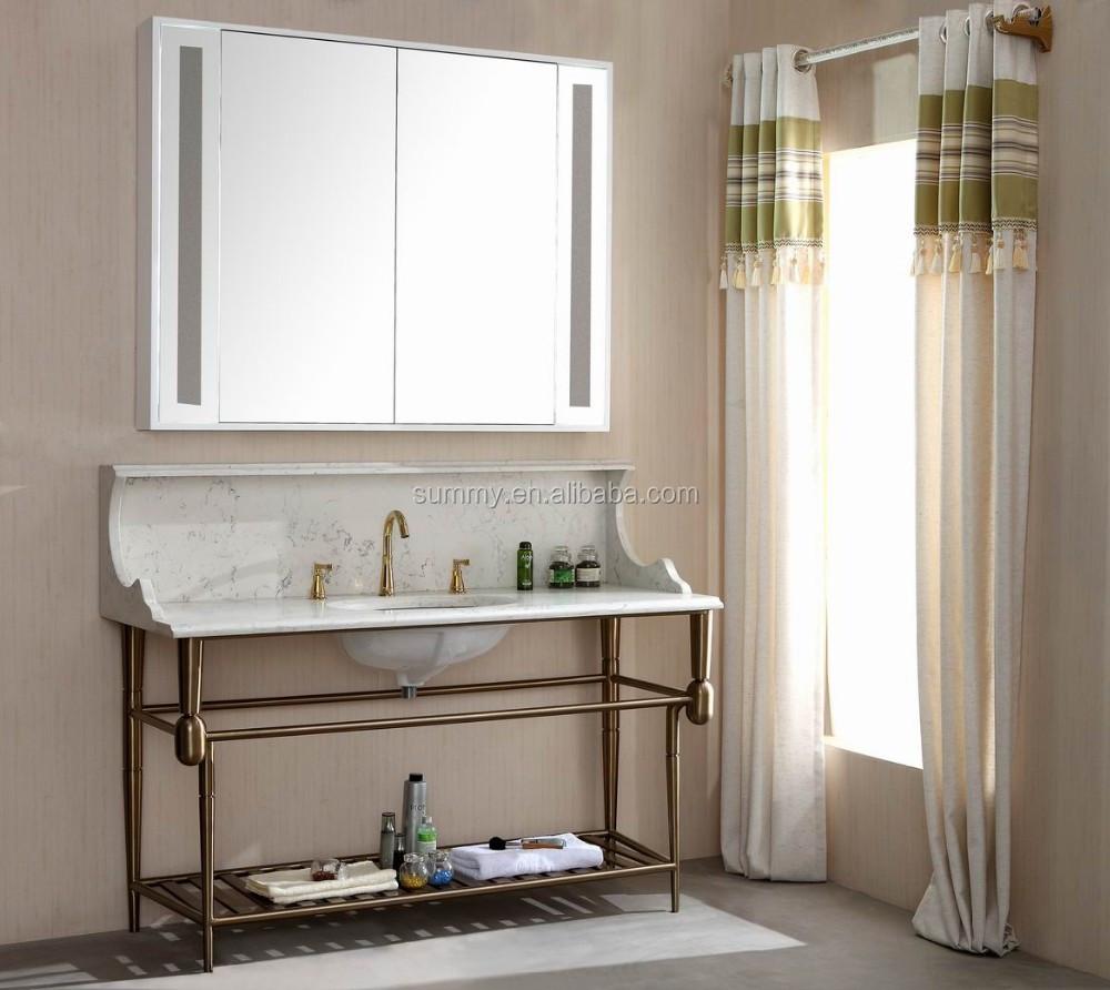 Miroir Salle De Bain Monsieur Bricolage ~ Am Ricain Standard Pvc Salle De Bains Lavabo Armoire De La Chine
