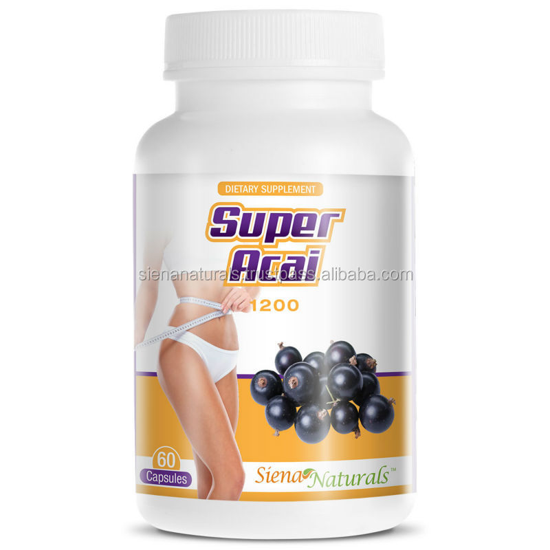 GMPc Dietary Supplement ( Softgels ) SUPER ACAI BERRY CAPSULES