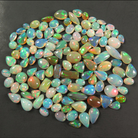 Hot Sale Natural Ethiopian Opal Ring Stone Mix Loose Gemstone