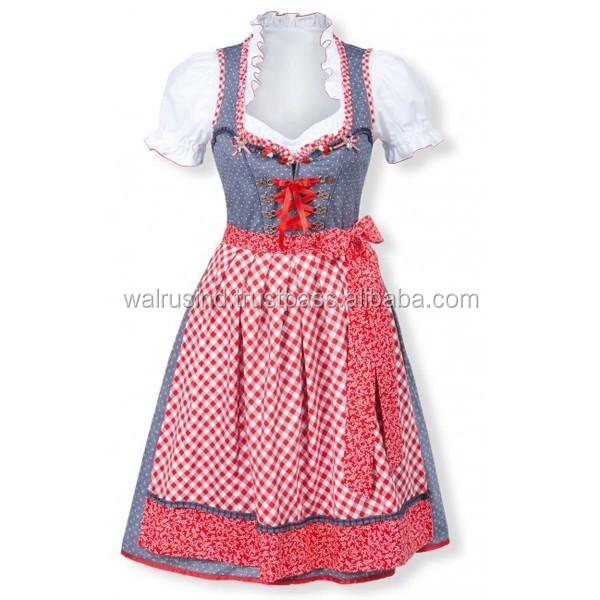 Баварское Платье Дирндль Купить