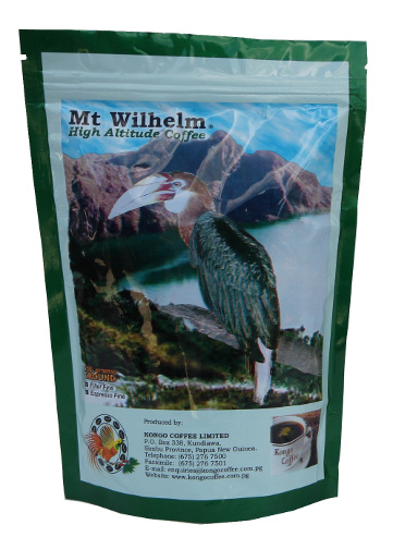 Mt Wilhelm 250g ground PNG coffee