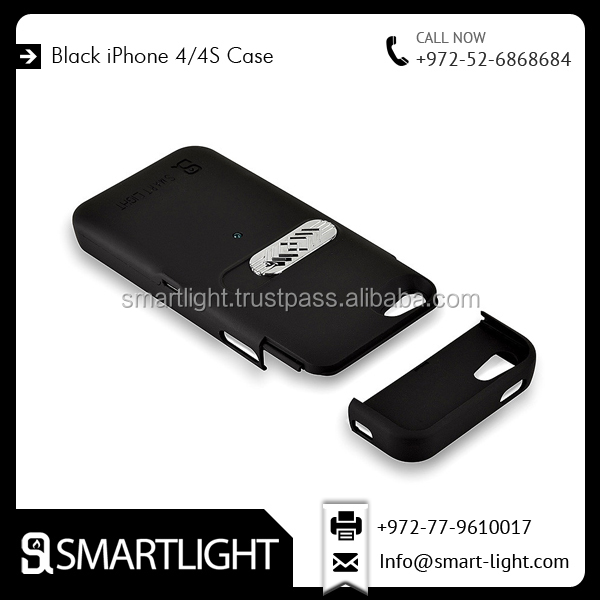 Hot new products for 2016 Black mobile phone lighter case for iPhone 4 4S