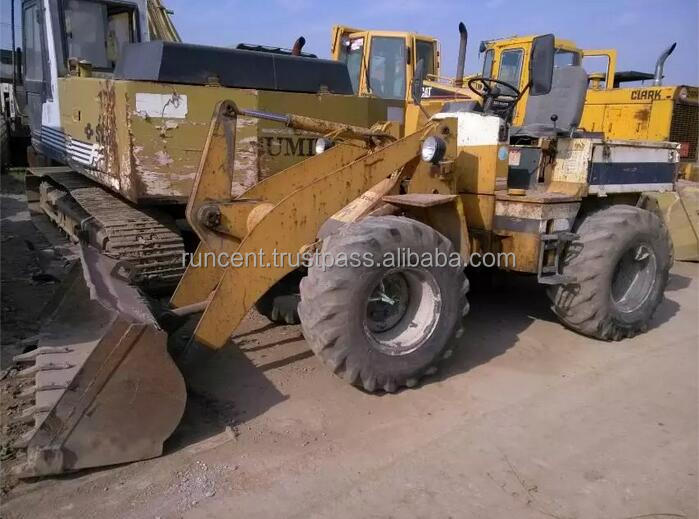 Used Wheel Loader Komatsu WA-40 Mini Loader for sale