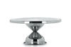 Stainless Steel Cake Stand Round Shape
