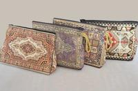 Woven Cosmetic Bag (Woven Make up Bag - Woven Jacquar Fabric)