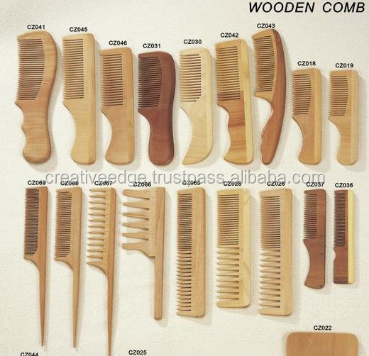 Different types of wooden combs / All comb models / beard hair combs