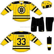 Reversible Sublimation Ice Hockey Jerseys China /IceHockey Wear Custom Half and Half Jersey