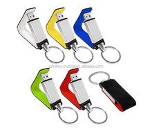 8GB USB Flash Drives with PU Leather for Corporate Gift