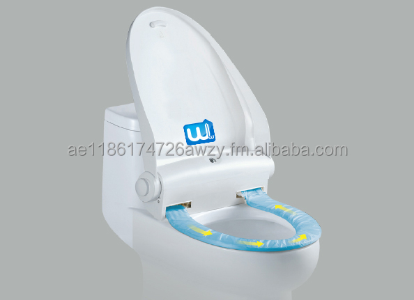 White Wing Toilet Seat Cover