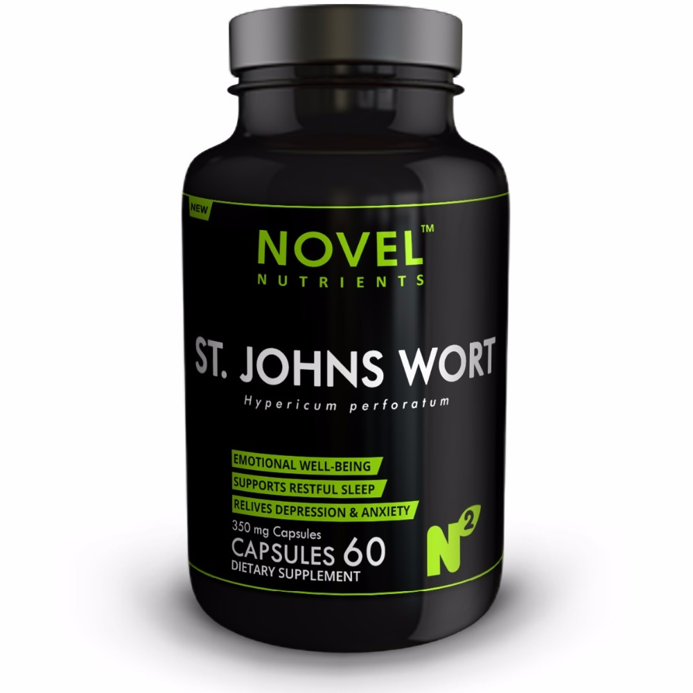 ST. JOHNS WORTS 350 MG 60 CAPSULES - STRESS MANAGEMENT