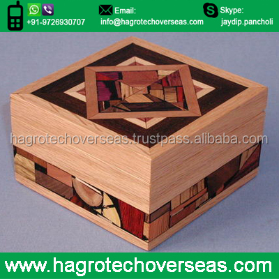 Wooden Gift Box For Christmas Gift