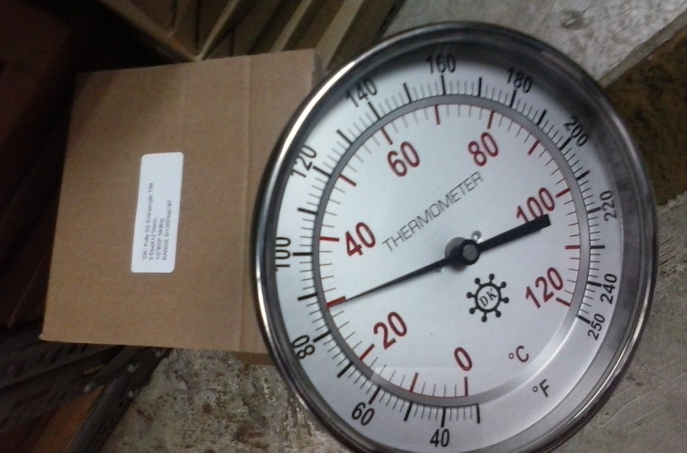 Bimental Thermometer
