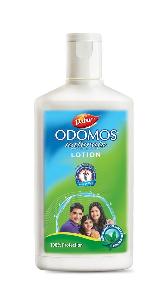 Dabur Odomos Naturals Mosquito Repellent Lotion with Natural Citronella & Aloe Vera