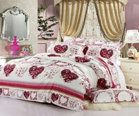180*200 Polyester/Cotton Bedding Set