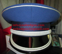 Marching Band Peaked Cap blue and silver
