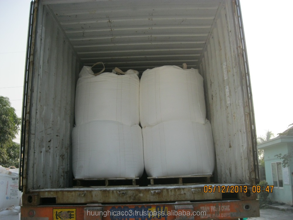 Ultrafine Calcium carbonate from Viet Nam used for cable, pvc pipe, tube, hose, rubber...high quality