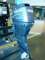 FREE SHIPPING FOR USED YAMAHA 40 HP 4 STROKE OUTBOARD MOTOR