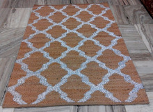 Jute Hemp Metallic Rugs